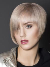 Boycuts Synthetic Short Straight Wigs For Women