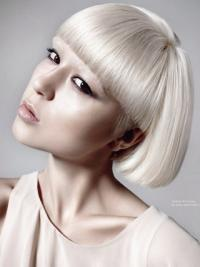 10 Inches Ideal Short Remy Human Hair Young Women'S Fashion Wigs