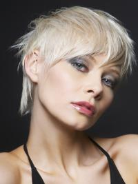 Straight Short Boycuts Young Fashion Source Wigs
