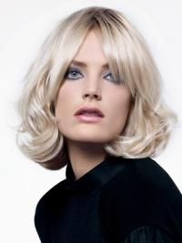 Chin Length Layered 12 Inches Fashion Color Wigs