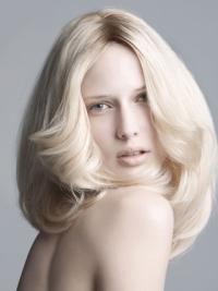 14 Inches Wavy Convenient Ladies Fashion Wig