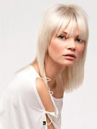 14 Inches Shoulder Length With Bangs Fashion Human Hair Wigs