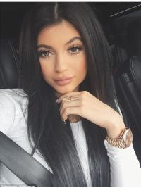 Full Lace Without Bangs Remy Human Hair Good Kylie Jenner Wig