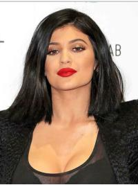 Full Lace Bobs Synthetic Sassy Kylie Jenner Wigs