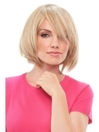 "Remy Human Hair Straight 8""(As Picture) Blonde Top This From"