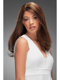 """Remy Human Hair Straight 18""""(As Picture) Brown Part Topper From"""
