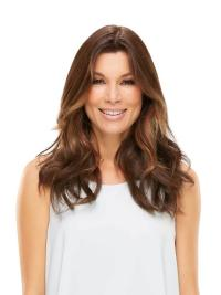 """Synthetic Wavy 18""""(As Picture) Auburn Part Topper From"""