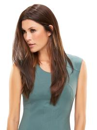 "Synthetic Straight 18""(As Picture) Brown Part XL Topper From"