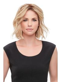 "Remy Human Hair Wavy 12""(As Picture) Blonde Part XL French Topper From"