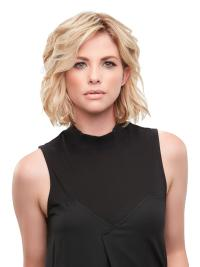 "Remy Human Hair Wavy 8""(As Picture) Blonde Part XL French Toppers From"