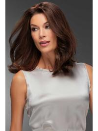 "Remy Human Hair Straight 12""(As Picture) Auburn Top Form From"
