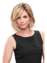 """Synthetic Straight 8""""(As Picture) Blonde Essentially You Topper From"""