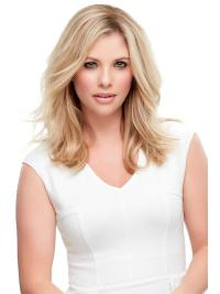 """Remy Human Hair Wavy 12""""(As Picture) Blonde Top Style From"""