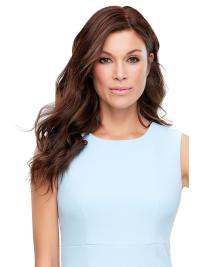 "Remy Human Hair Wavy 18""(As Picture) Brown Top Style From"