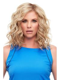 "Remy Human Hair Curly 12""(As Picture) Blonde Top Full From"